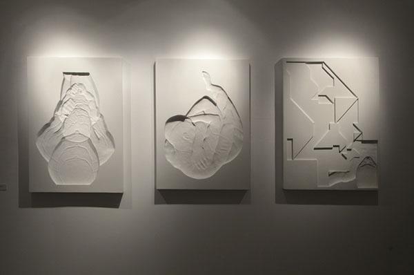 «Контрформы» (серия рельефов, полимерные материалы, 2012)