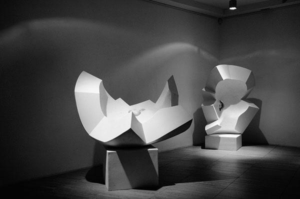 Назар Билык. «Контрформы» (серия рельефов, полимерные материалы, 2012)