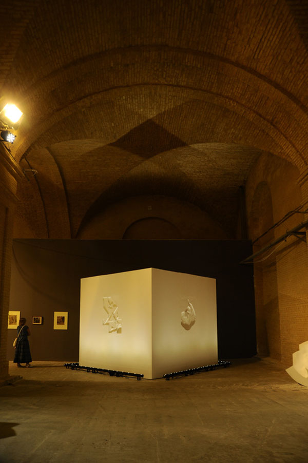 «Куб» (полимерные материалы, «Мистецький Арсенал», Киев, 2012)