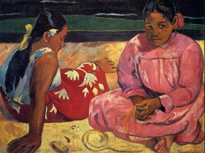 Поль Гоген. Таитянские женщины на побережье, 1891