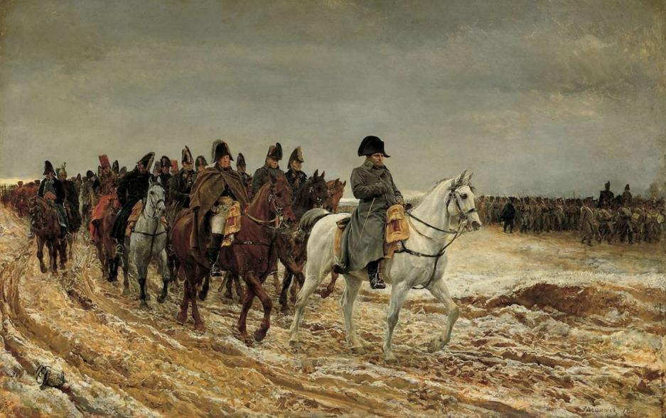 Жан-Луи-Эрнест Месонье. Французская кампания 1812 года, 1861