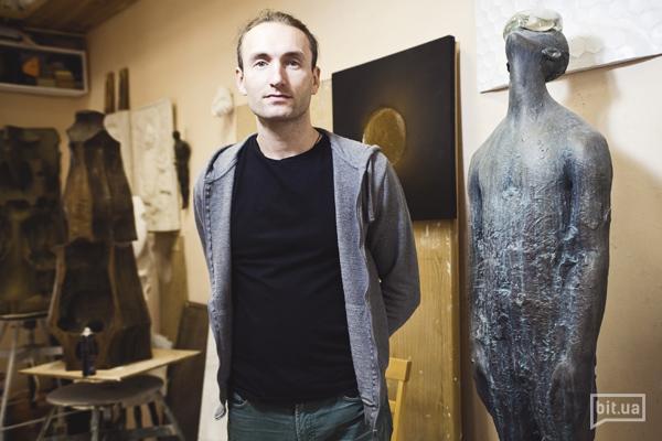 """Назар Білик: """"Художнику цікаво те, що пов'язано з людиною і суспільством"""""""