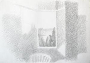 Работа с выставки в галерее Bottega «Мій Крим Наш Крым»