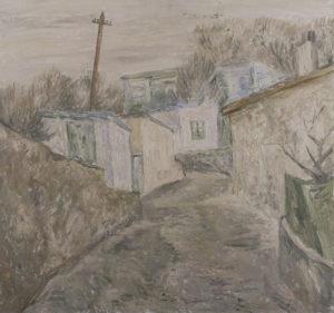 Владимир Будников. Улица в Гурзуфе. 1972